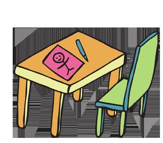 Tavoli e Sedie per Bambini