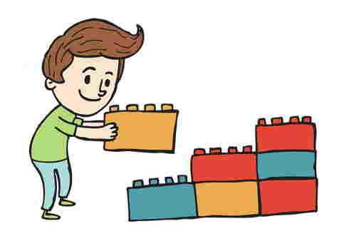 Set Costruzioni per Bambini
