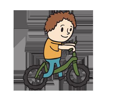 Tricicli e Bici senza Pedali