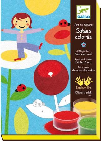 Sabbie Colorate Djeco Giardino
