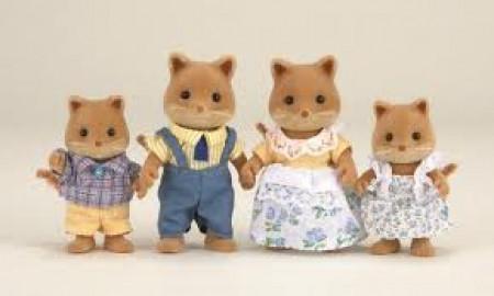 Sylvanian Families Famiglia Volpi