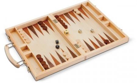 Backgammon con Valigetta Gioco da Tavolo Playsino