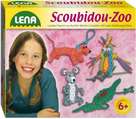 Lena Scoubidou Set Zoo