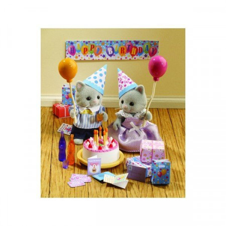 Sylvanian Families Kit Festa di Compleanno