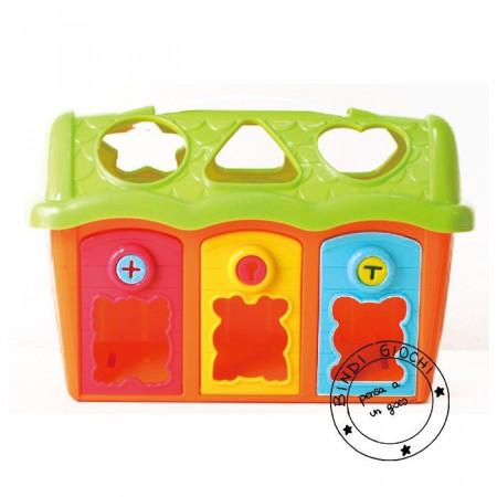 Casa a Incastri Cerca Forme per Bambini
