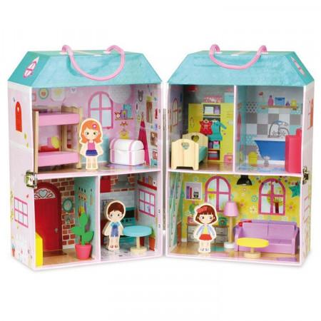 Casa delle Bambole in Cartone