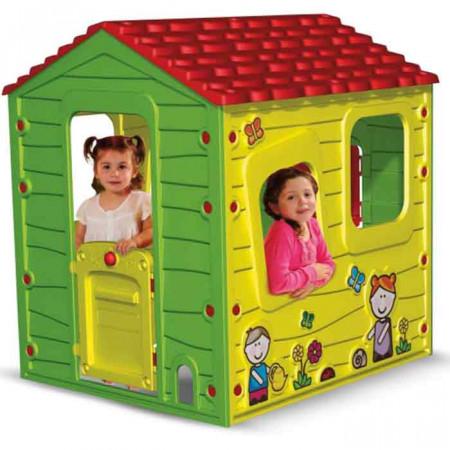 casa da giardino per bambini fattoria di starplast un