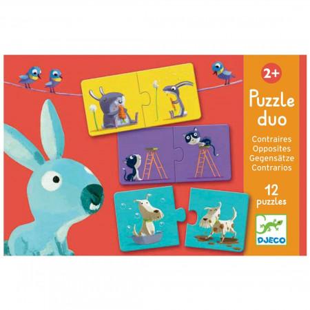 Djeco Puzzle Opposti