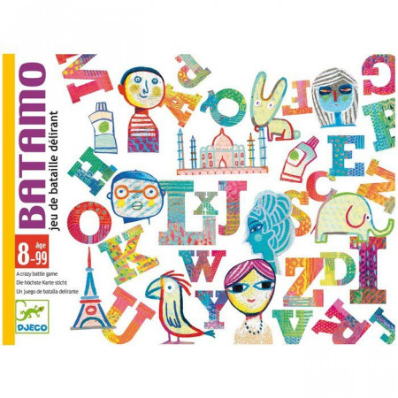 Djeco Carte da Gioco Batamo