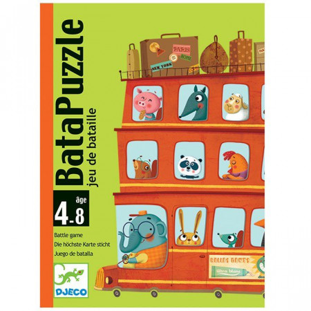 Djeco Carte da Gioco Bata-Puzzle