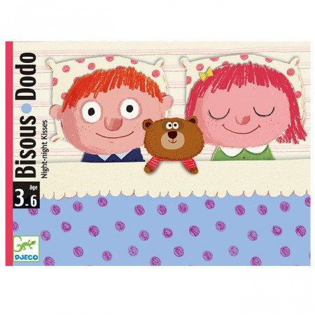 Djeco Carte da Gioco Bisous Dodo