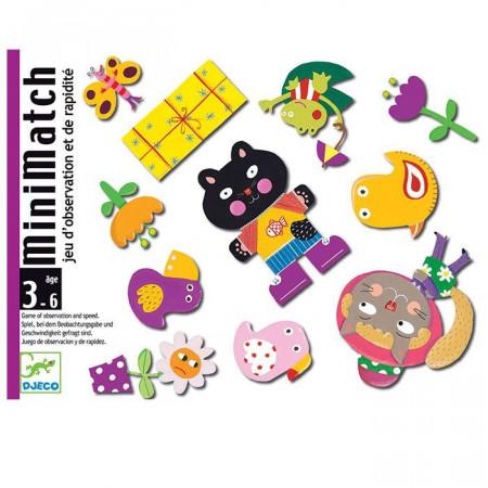 Djeco Carte da Gioco MiniMatch