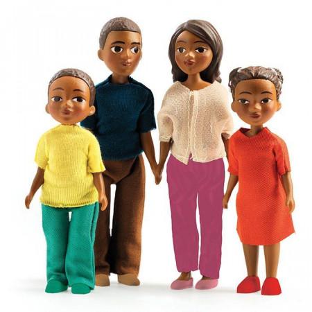 Casa delle Bambole Famigia di Milo e Mila