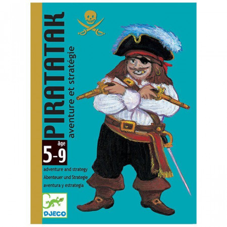 Djeco Carte da Gioco Piratak