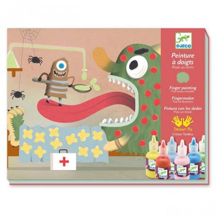 Giochi di pittura per bambini per Dita