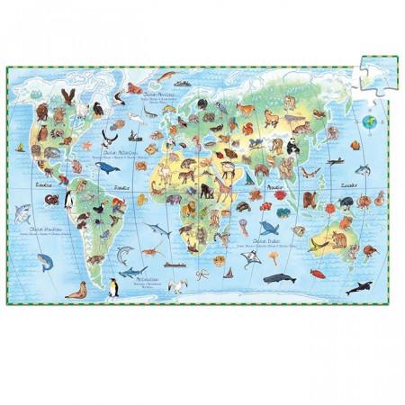 Djeco Puzzle Animali