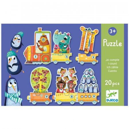 Djeco Puzzle Imparo a Contare