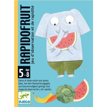 Djeco Carte da Gioco Rapido Fruit