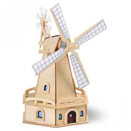 Mulino in legno da costruire di weico un bel regalo per bambini - Costruire un portabottiglie in legno ...