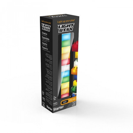Light Stax Costruzioni Luminose Starter Set 12 pz