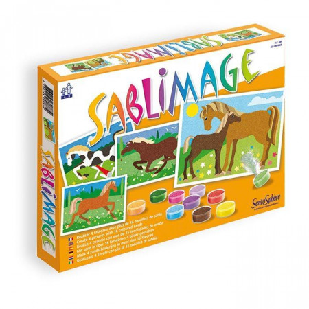 Sabbie Colorate Sablimage Cavalli