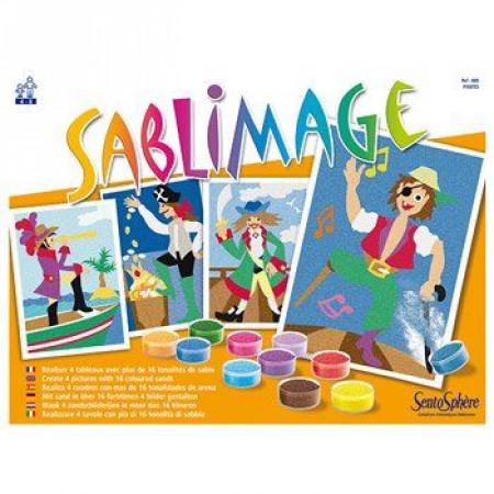Sentosphere Sabbie Colorate Sablimage Pirati