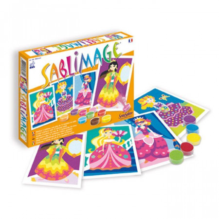 Sentosphere Sabbie Colorate Sablimage Principesse