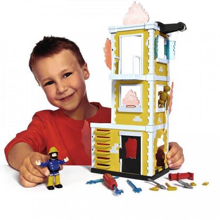SAM il Pompiere Torre di Addestramento in Fiamme