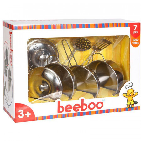 Set Pentolini in Metallo per Bambini