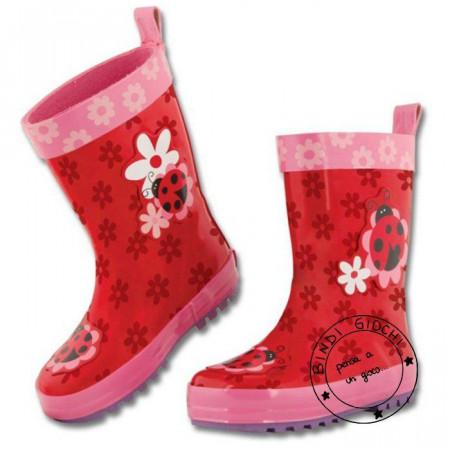 Stivali di Gomma per Bambini Stephen Joseph Coccinella