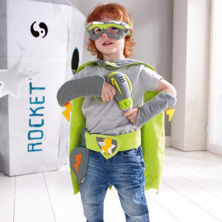 Vestito da Supereroe Power Paul Haba 301032