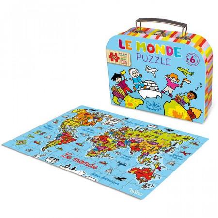 Puzzle Planisfero Mondo