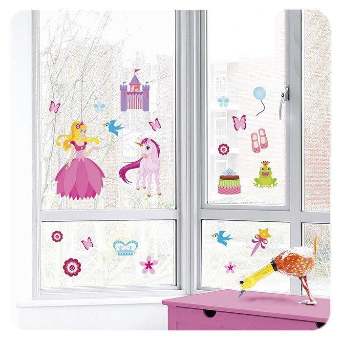 Adesivi per finestre di eurographics un bel regalo per - Adesivi natalizi per finestre ...