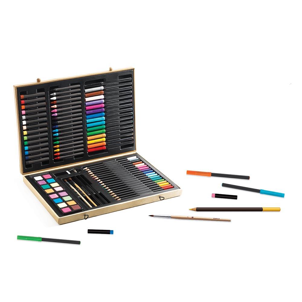 Valigetta colori per bambini di djeco un bel regalo per bambini - Colori per camera bambini ...