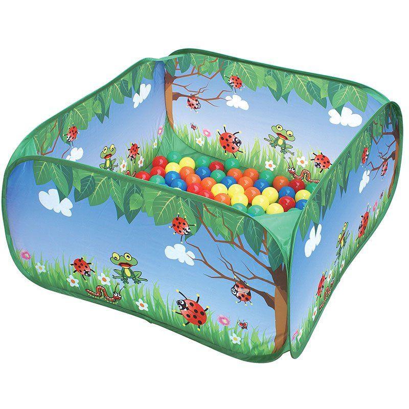 Box con palline colorate di outdoor active un bel regalo for Amazon piscina con palline