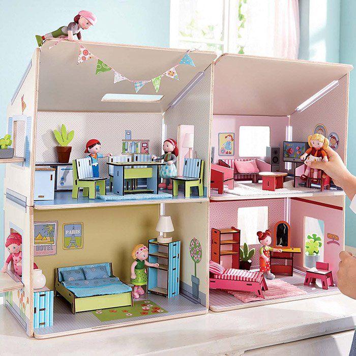accessori casa delle bambole televisore e lampade di haba On accessori casa