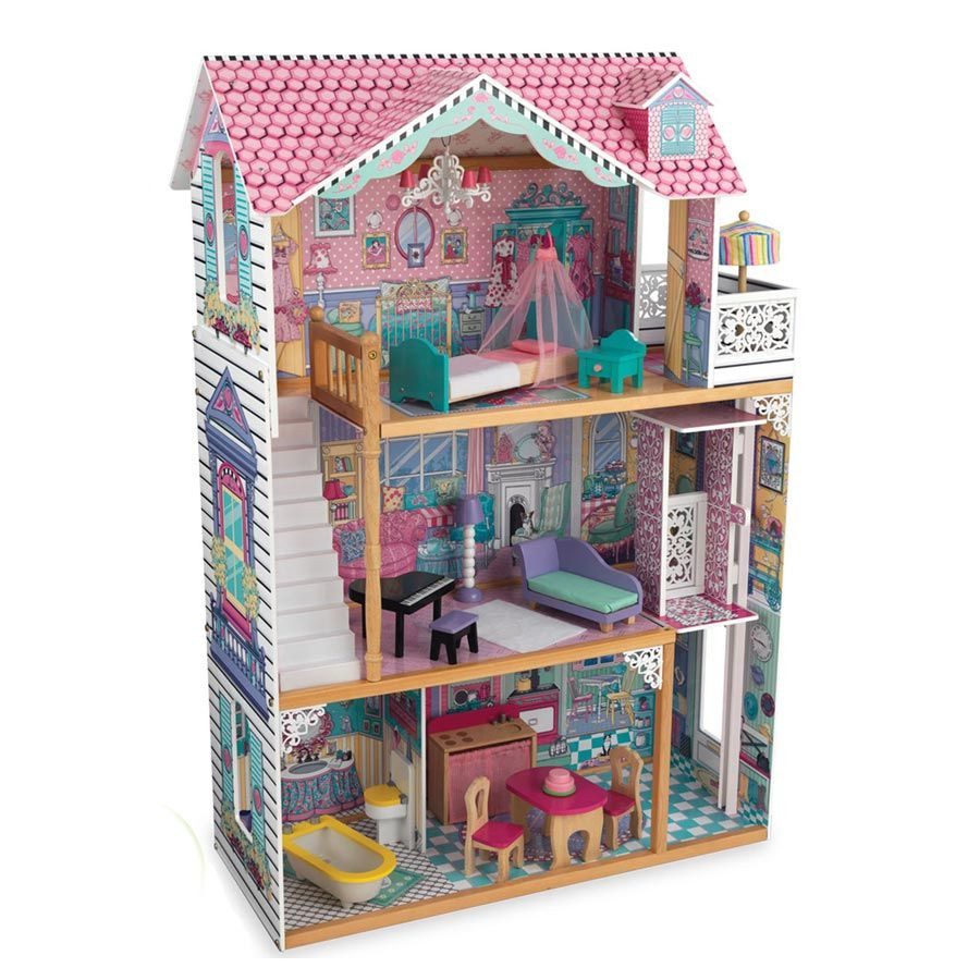 Casa delle barbie in legno di kidkraft un bel regalo per for Accessory house