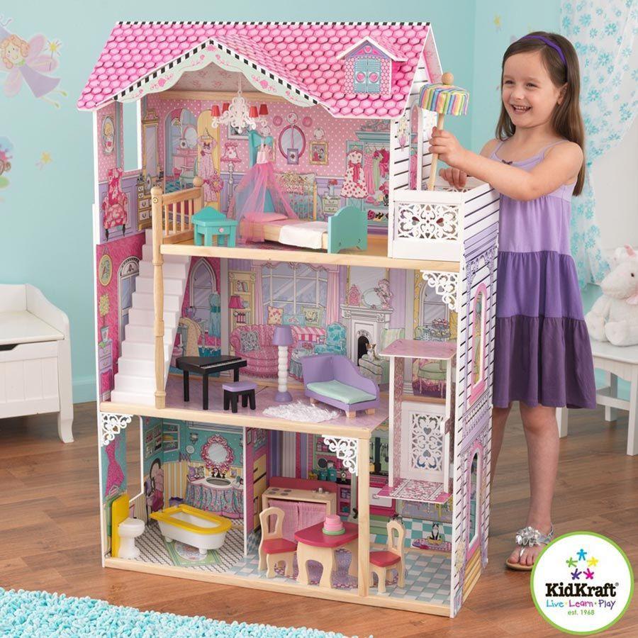 Casa delle Barbie in Legno di Kidkraft - un bel regalo per bambini
