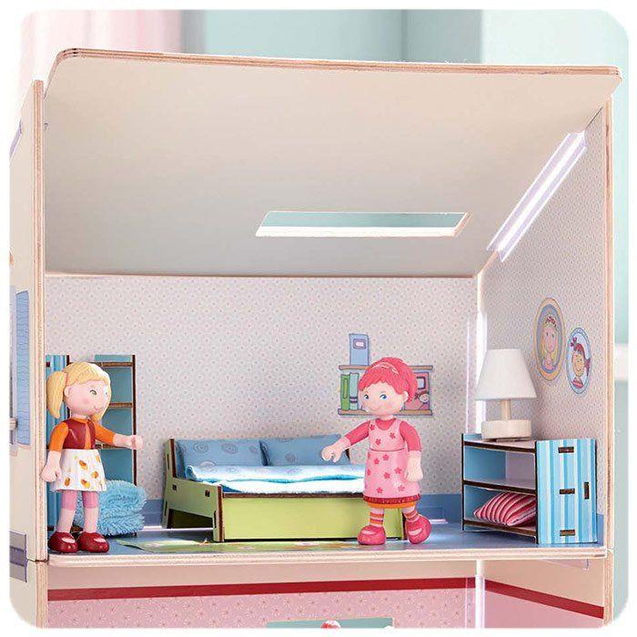 Casa delle bambole camera da letto matrimoniale di haba for Regalo camera da letto matrimoniale