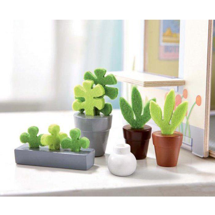 Accessori per casa delle bambole fiori e piante di haba for Accessori d arredo casa