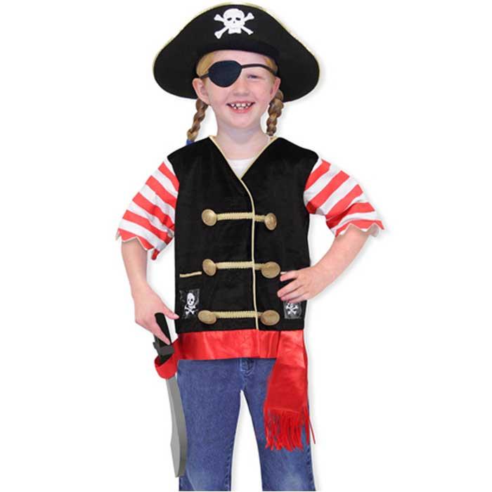 Top Vestito da Pirata per Bambini di Melissa Doug - un bel regalo per bamb UR05
