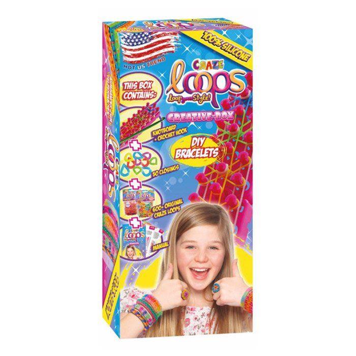 Set crea i tuoi bracciali di craze un bel regalo per bambini for Crea i tuoi progetti