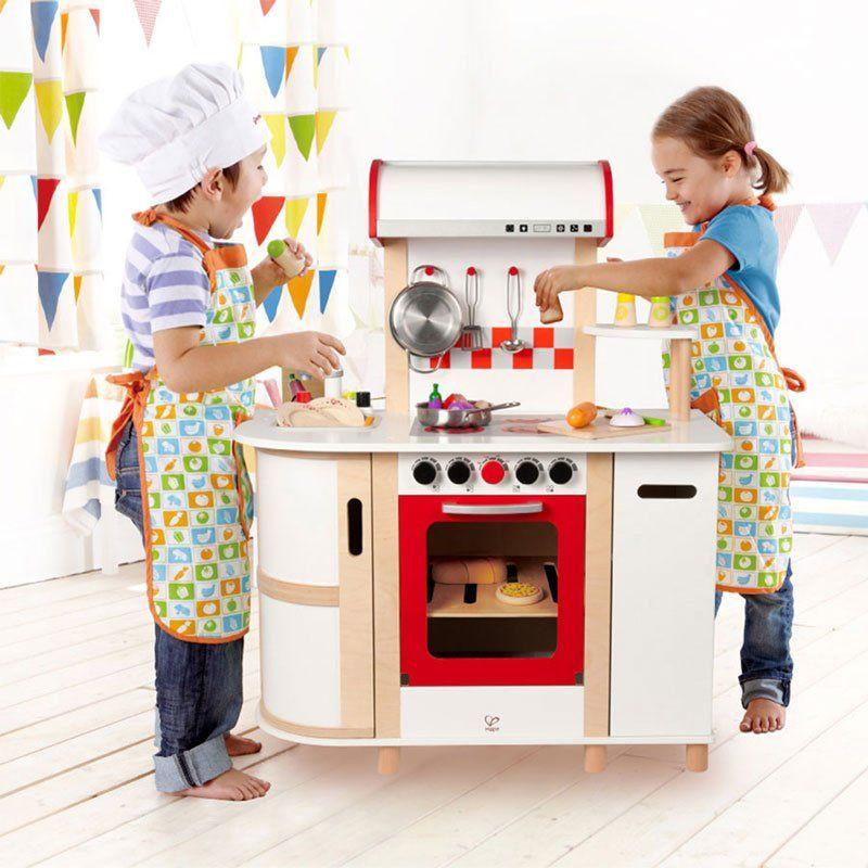 Cucina giocattolo hape di hape un bel regalo per bambini for Cucina giocattolo