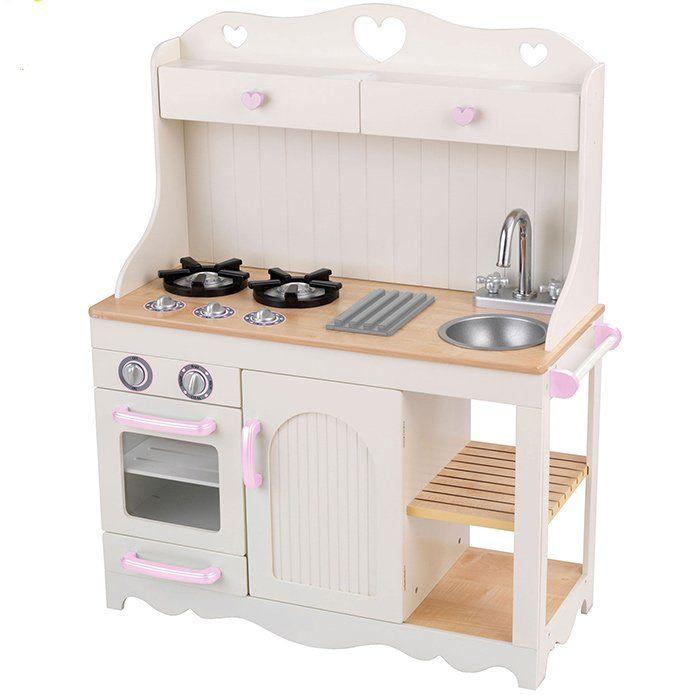... Prairie Cucina in Legno per Bambini  Accessori Cucina Giocattolo