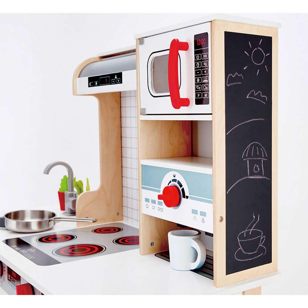 Cucina in legno hape di hape un bel regalo per bambini - Cucine per bambini in legno ...