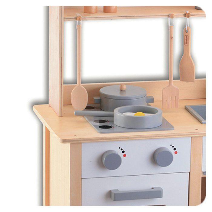 Cucina in legno per bambini cucina giocattolo per bambini for Accessori per cucina in legno