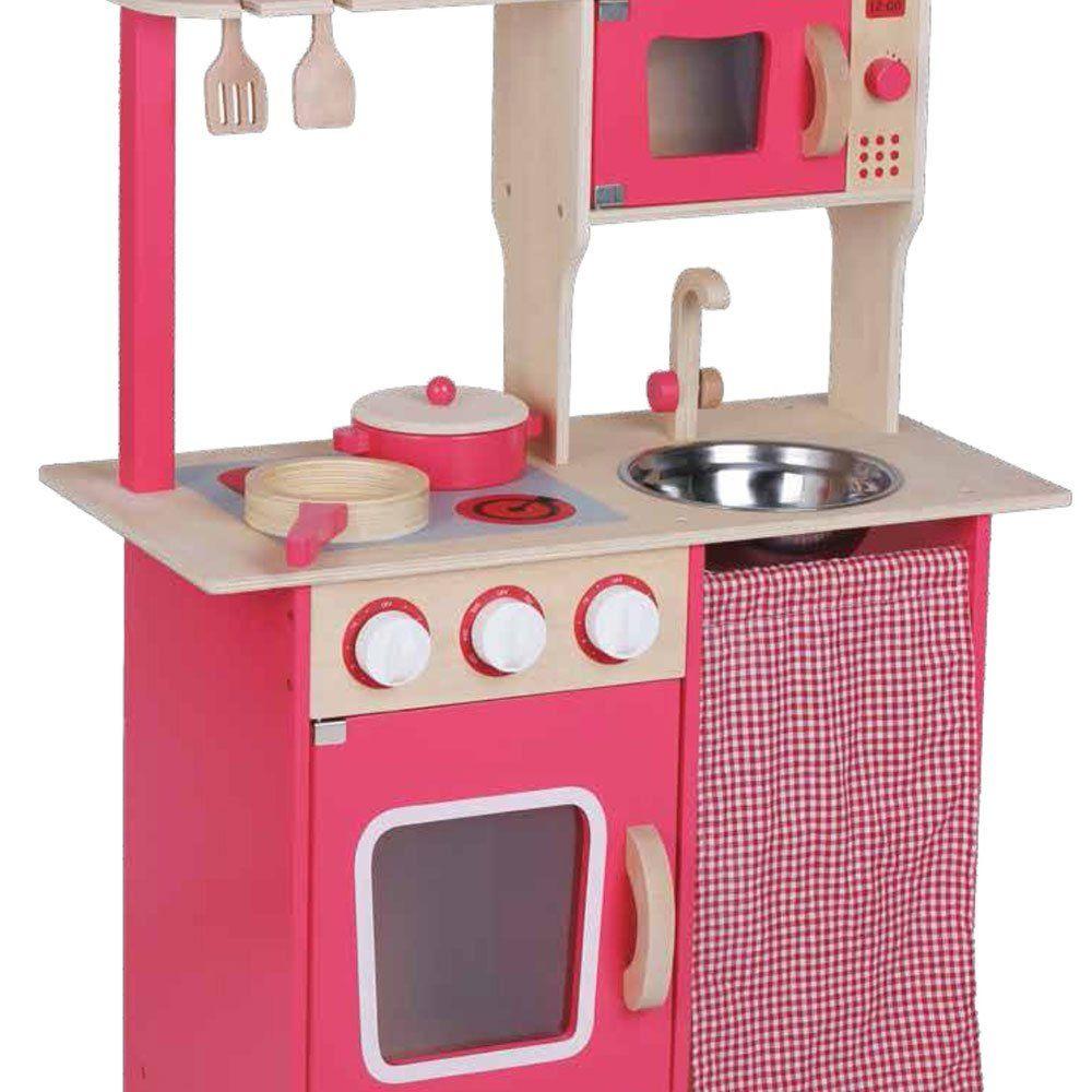 Cucina giocattolo in legno rosa di beeboo un bel regalo per bambini - Cucina giocattolo in legno ...