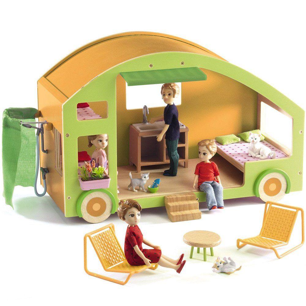 Roulotte giocattolo djeco di djeco un bel regalo per bambini for Ikea casa bambole