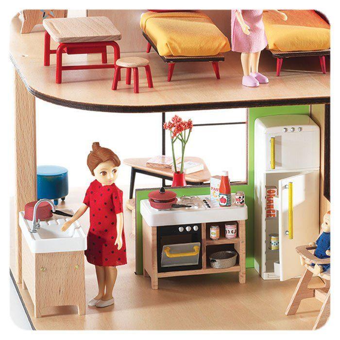 Cucina per Casa delle Bambole di Djeco - un bel regalo per bambini