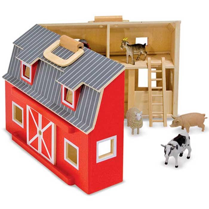 Fattoria degli animali americana per bambini di melissa doug un bel - Casa americana in legno ...